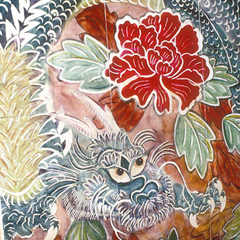 Dragons and Peonies